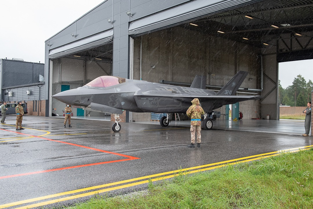 Evaluation Team Confirm Italian Air Force F-35 Detachment and Estonian Baltic Air Policing Capabilities