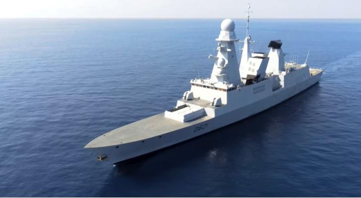 French Navy Horizon-class frigate Chevalier Paul