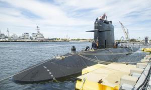 French Navy Submarine FNS Améthyste (S605) Visits US Naval Station Norfolk