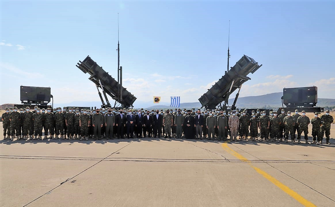 Departure Ceremony of Hellenic Air Force PATRIOT Battery to Saudi Arabia