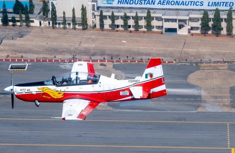 Hindustan Aeronautics Limited HTT-40 Basic Trainer Aircraft