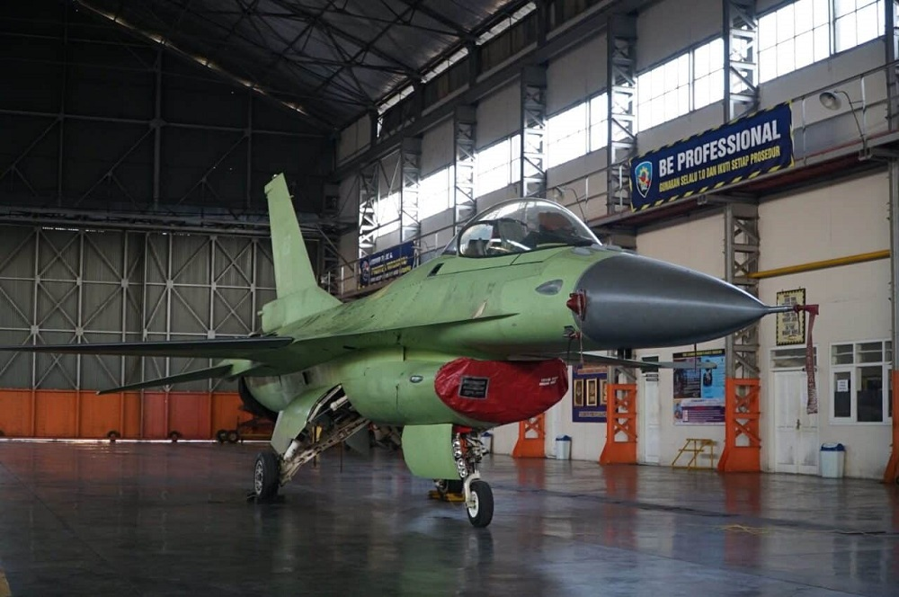 Indonesian Air Force Completes Enhanced Mid-life Upgrade on fifth F-16