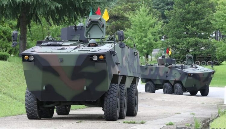 Hyundai Rotem K806 Wheeled Armored Personnel Carrier