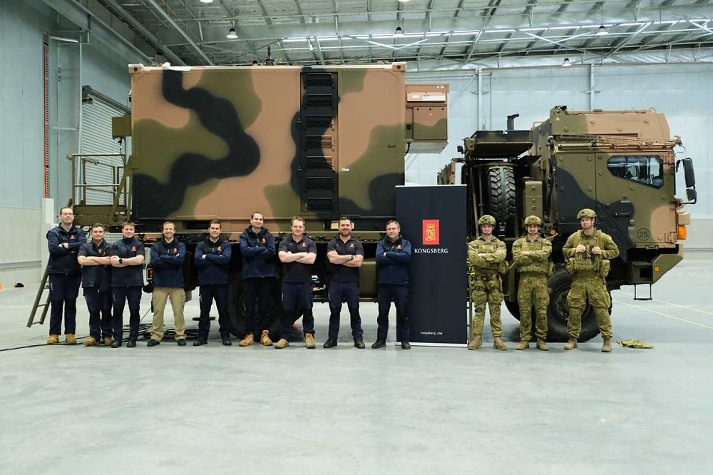 Kongsberg Achieves Factory Acceptance Test of Distribution Centres for Australian Army's NASAMS Air Missile Systems
