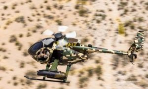 Malaysian Army Aviation MD-530G Light Attack Helicopter
