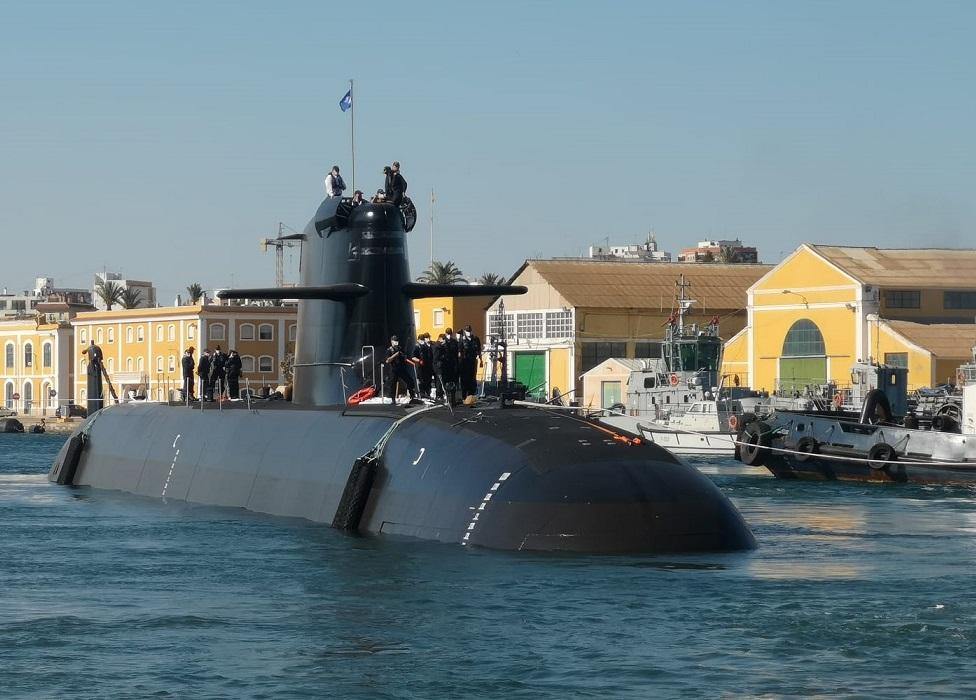 Spanish Navy Submarine Isaac Peral (S-81)