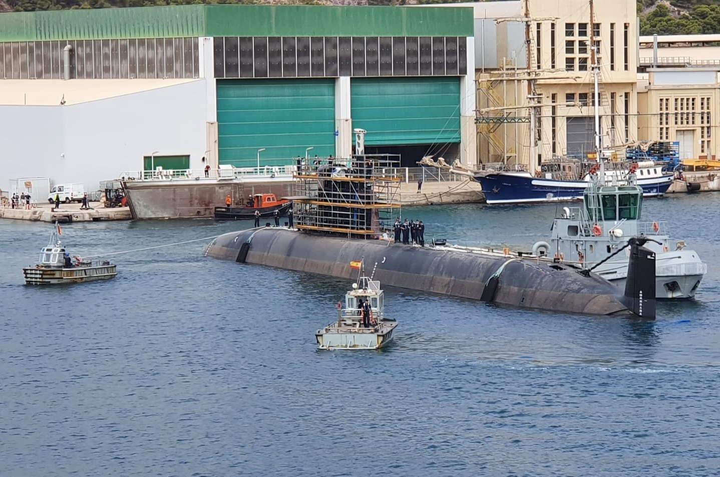 Navantia Delivers Combat System Trials for Spanish Navy Submarine Isaac Peral (S-81)