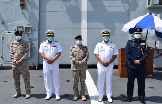 Pakistan Navy Guided Missile Frigate PNS Zulfiquar (FFG-251) Visits Jeddah Port