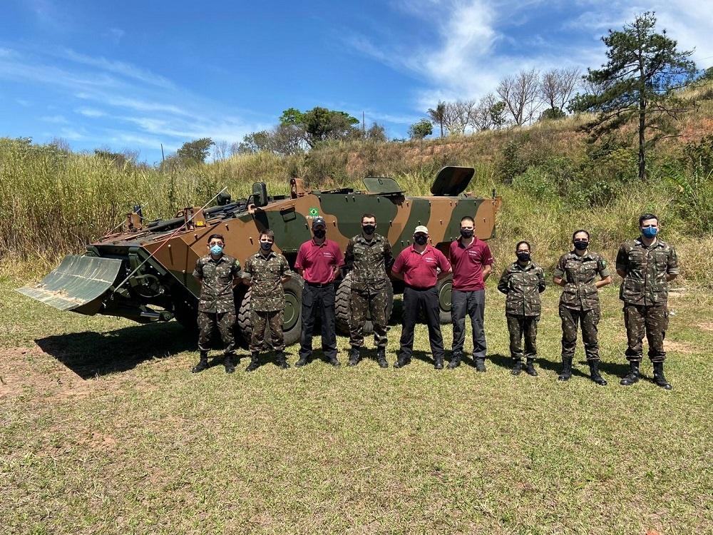 Pearson Engineering Set to Integrate Engineering Kits for Brazilian Army Guarani 6x6