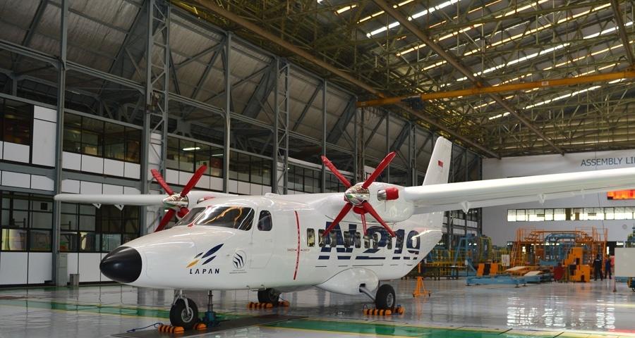 Indonesian Aerospace N-219 Nurtanio short take-off and landing (STOL) multirole aircraft