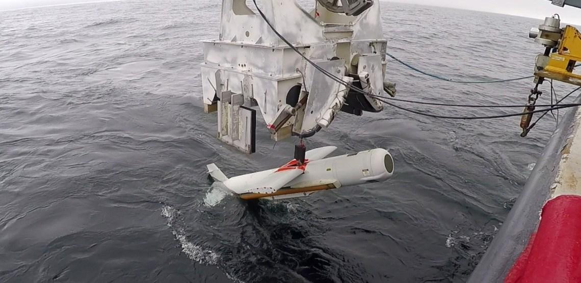 AN/AQS-20 advanced minehunting sonar system