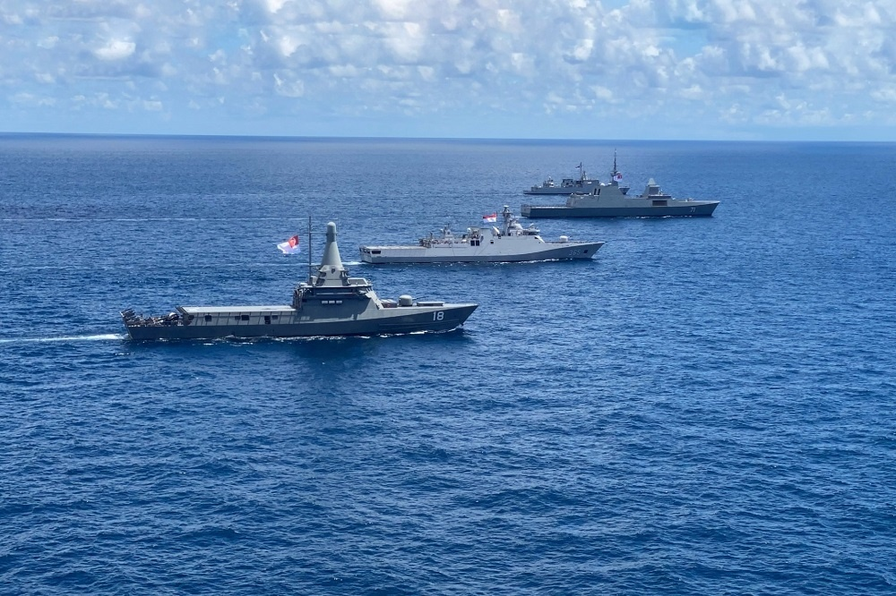 Republic of Singapore and Indonesia Navies Conclude Bilateral Exercise Eagle Indopura