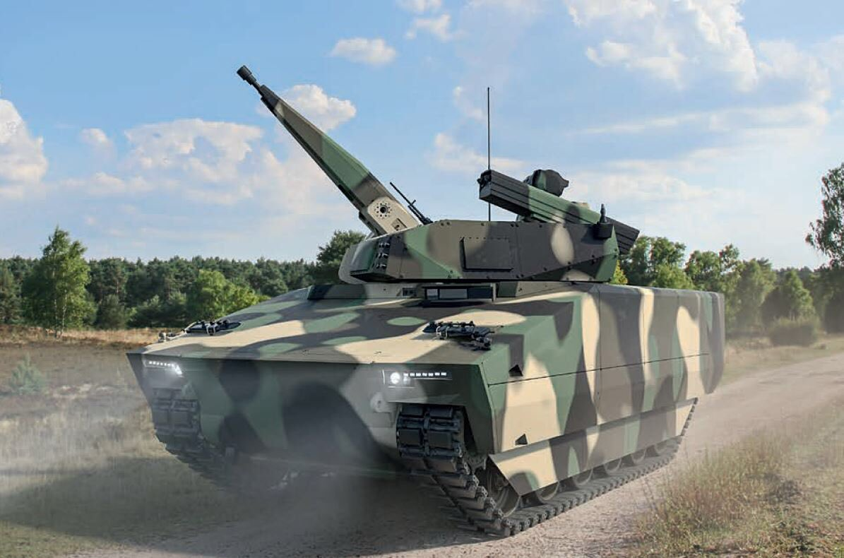 "Rheinmetall Unveils Universal Hybrid Mobile Short-range Air Defence ""Skyranger 30"""
