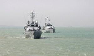 Royal Australian Navy Armidale-class Patrol Boats Test Warfighting Skills