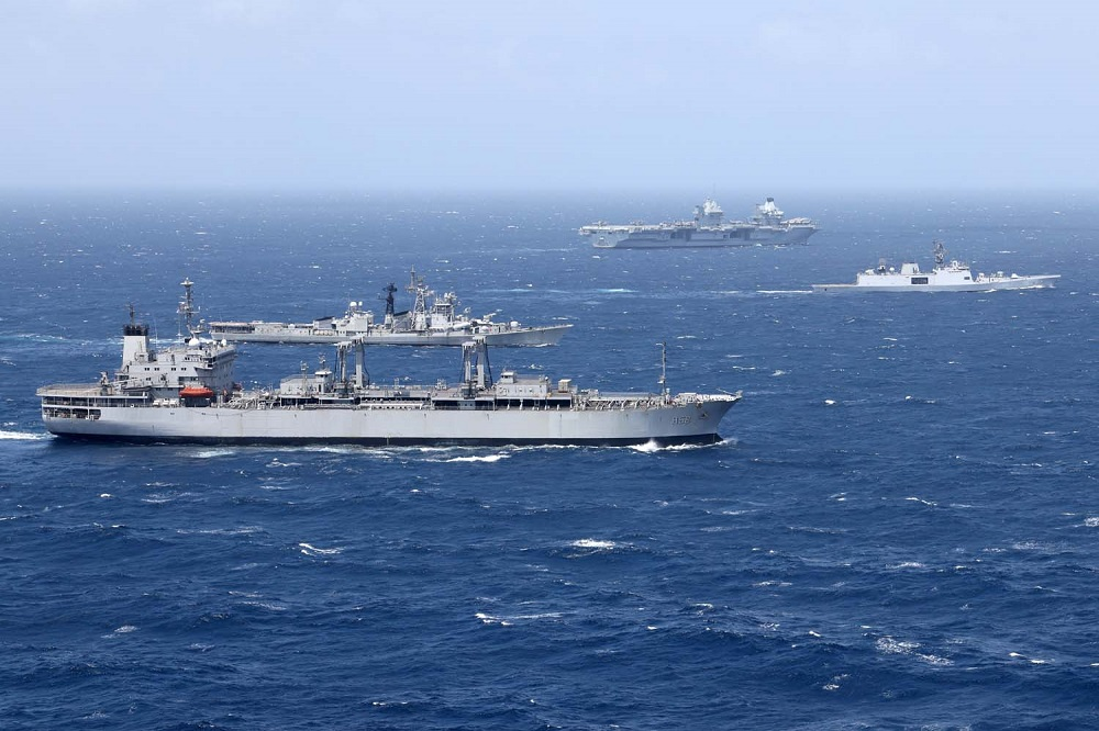 Royal Navy Awards Contracts to Four Contenders for Fleet Solid Support Competition