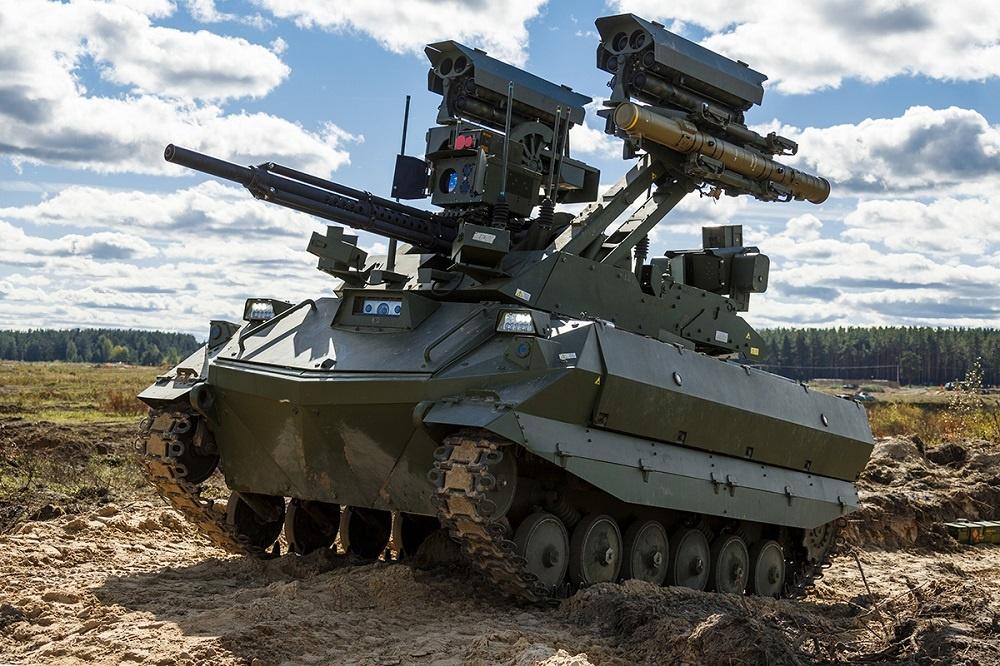 Nerekhta Unmanned Combat Ground Vehicle