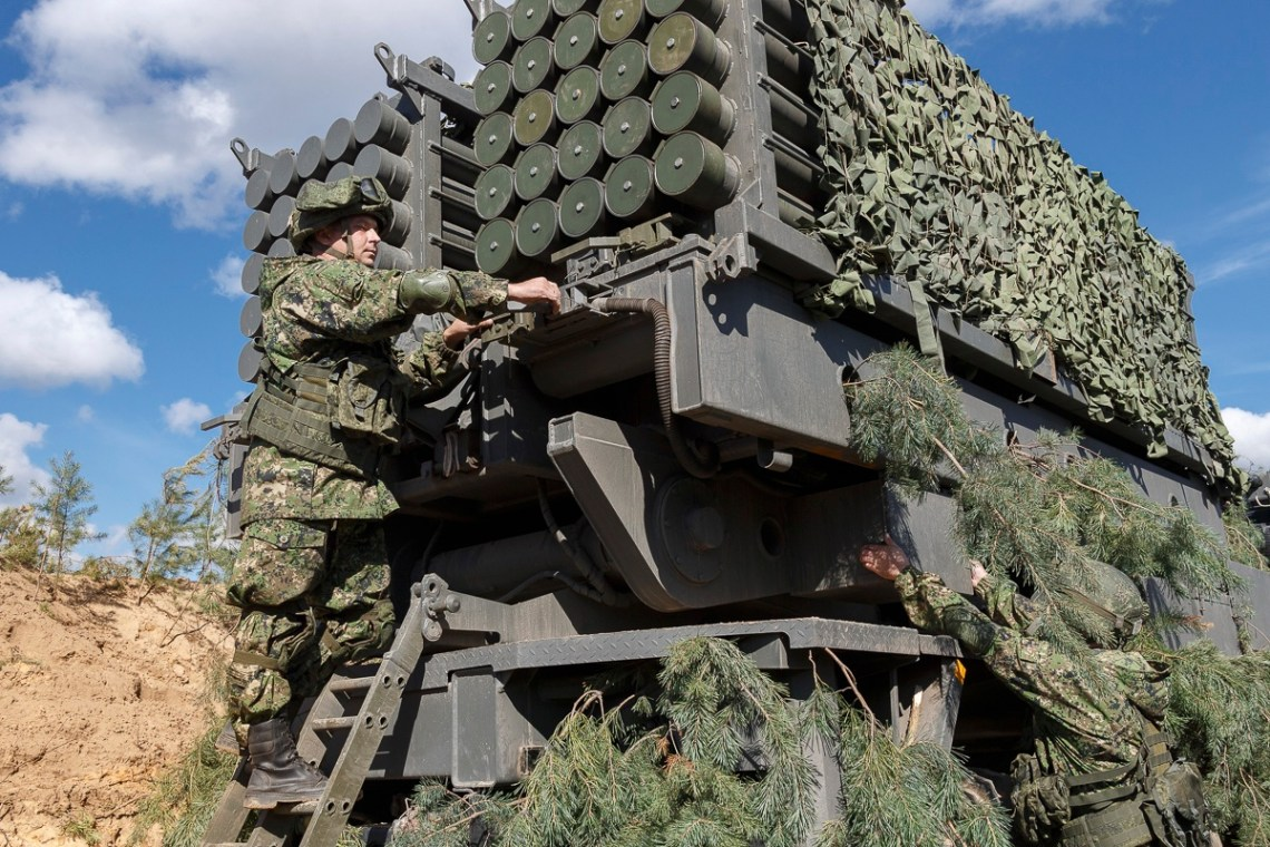Russian Army Unveils Its New Zemledeliye Remotely Controlled Minelayer System at Zapad-2021