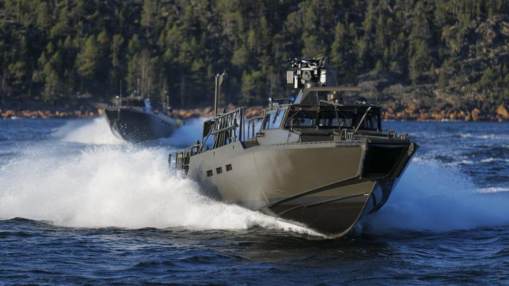 Saab Showcases the New Combat Boat 90 (CB90) Next Generation at DSEI 2021