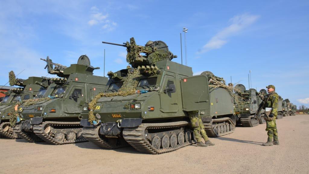 Swedish Armed Forces Bandvagn 410s