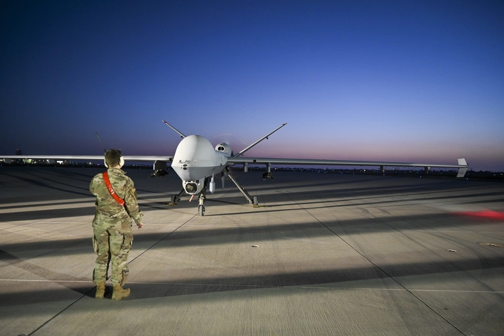 US Air Force 49th Wing MQ-9 Reaper Conducts Exercise Agile Reaper Part 2