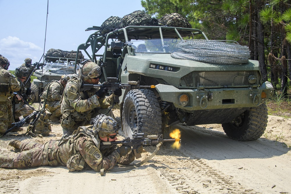 US Army Airborne Divisions Test New Infantry Squad Vehicle (ISV) at Fort Bragg