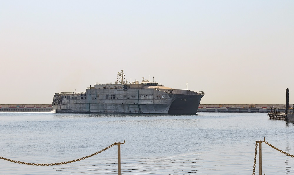 US Navy USNS Choctaw County Arrives in Lebanon for First-Ever Central Partnership Station