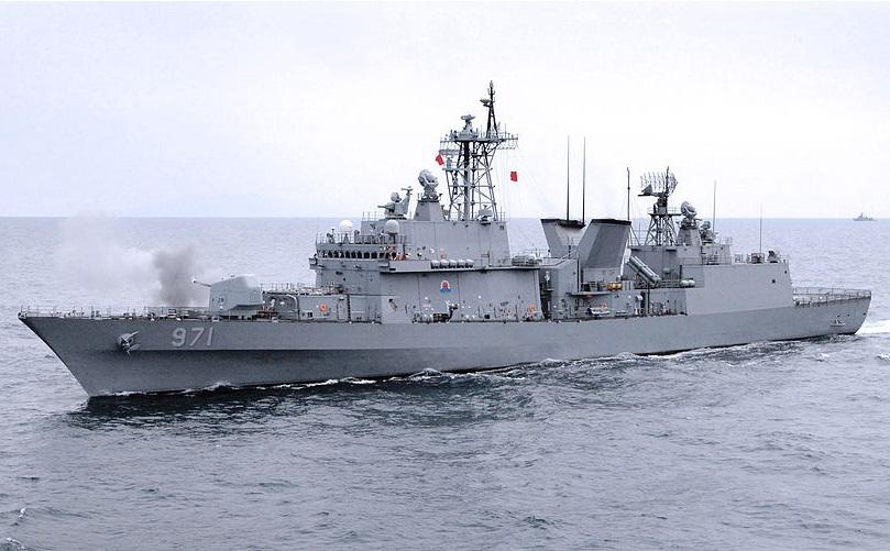 Republic of Korea Navy Gwanggaeto the Great (DDG 971) Destroyer