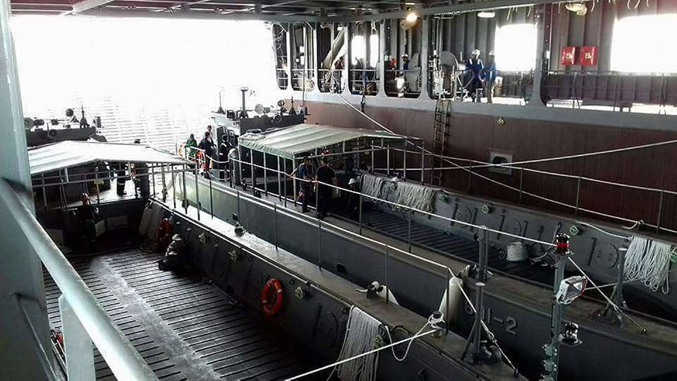 Philippine Navy 23-meter (75 ft) landing craft utility LCU-23