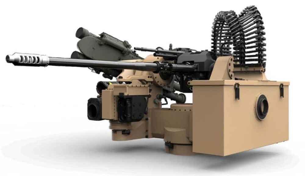 XM914 (30mmx113mm) remote weapon station (RWS)