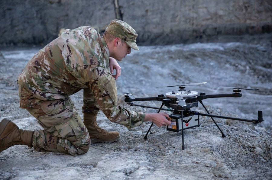 Military Operator with RedTail LiDAR Systems RTL-450