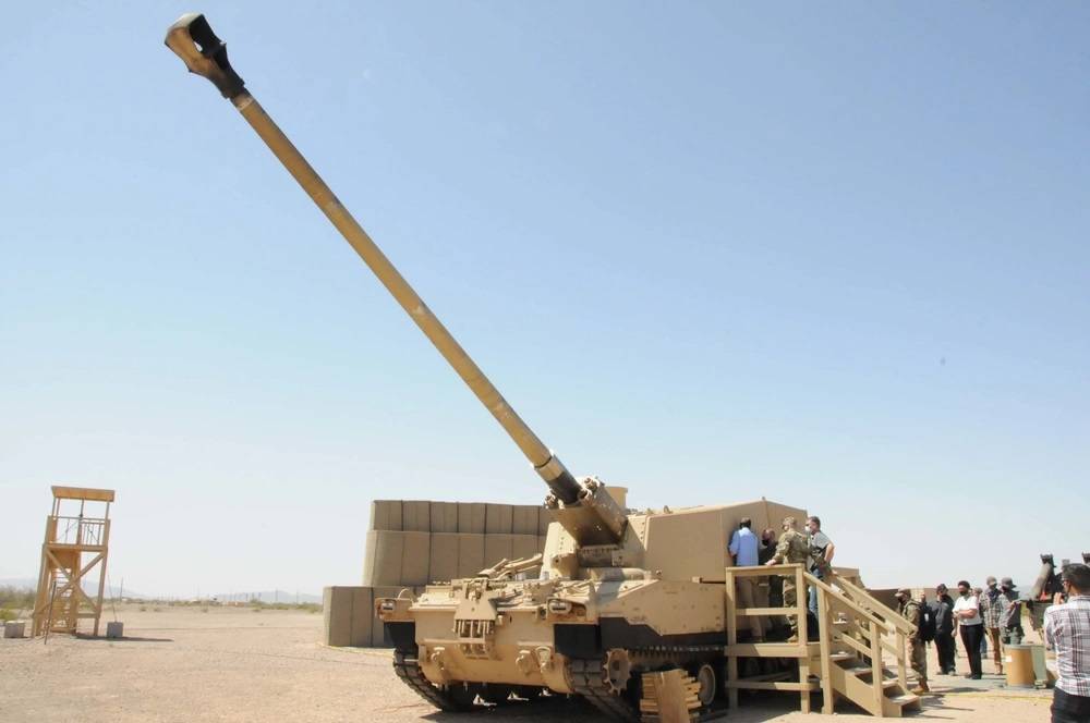 U.S. Army Extended Range Cannon Artillery (ERCA)