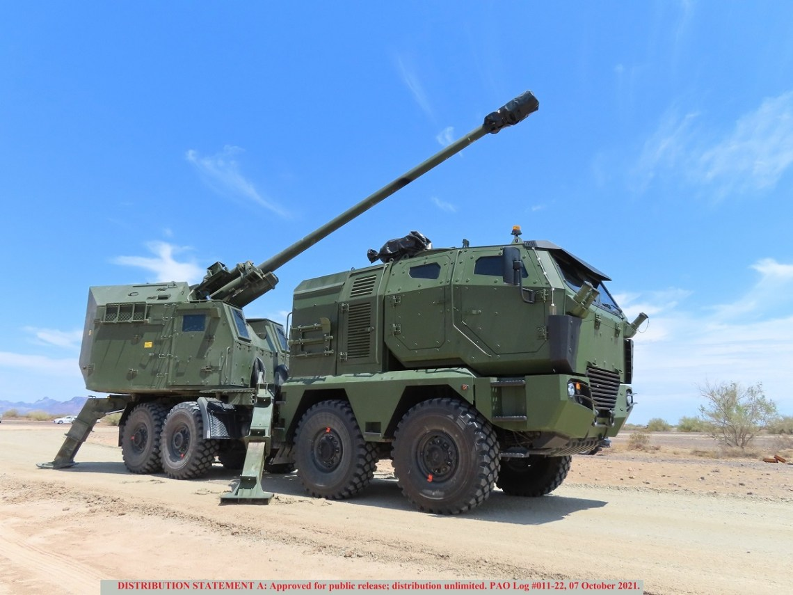 Serbian NORA-B52 M21 Howitzer Successfully Completed Test-fires Yuma Proving Grounds