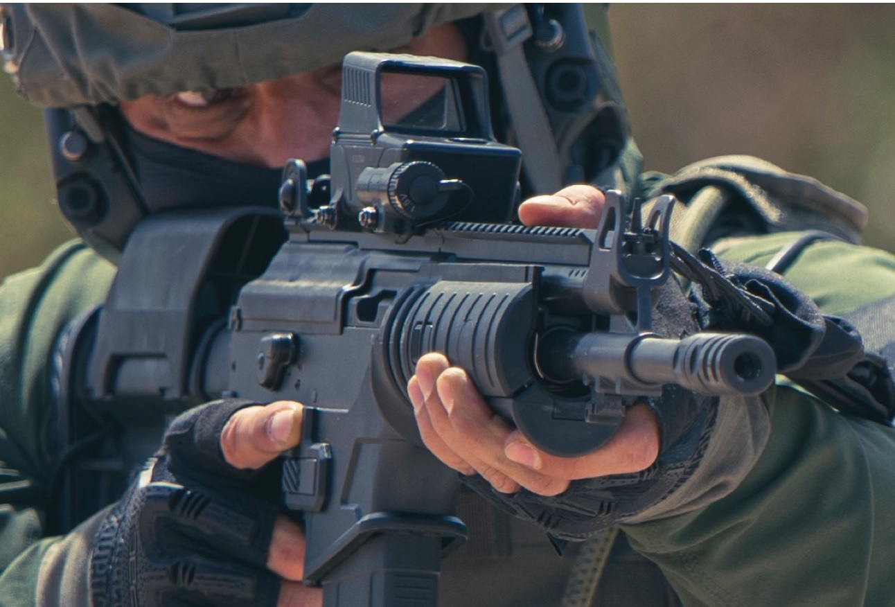 Israel Weapon Industries Unveils ACE-N 52 Assault Rifle