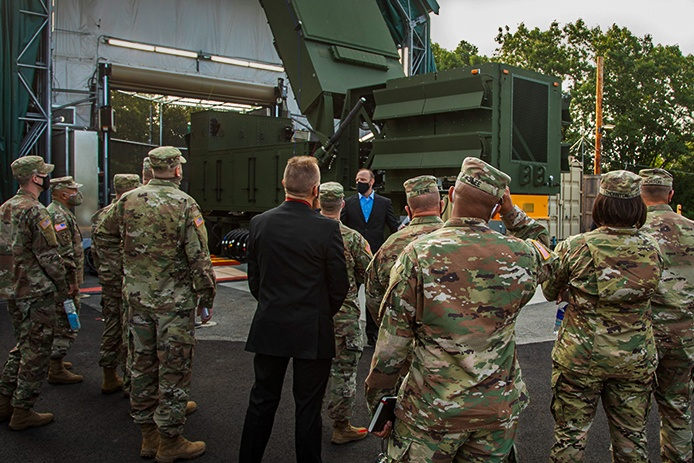 User involvement has been critical in the development of Raytheon's GhostEye. In Soldier Touchpoints, members of the U.S. Army embed in the radar's technical and production teams.