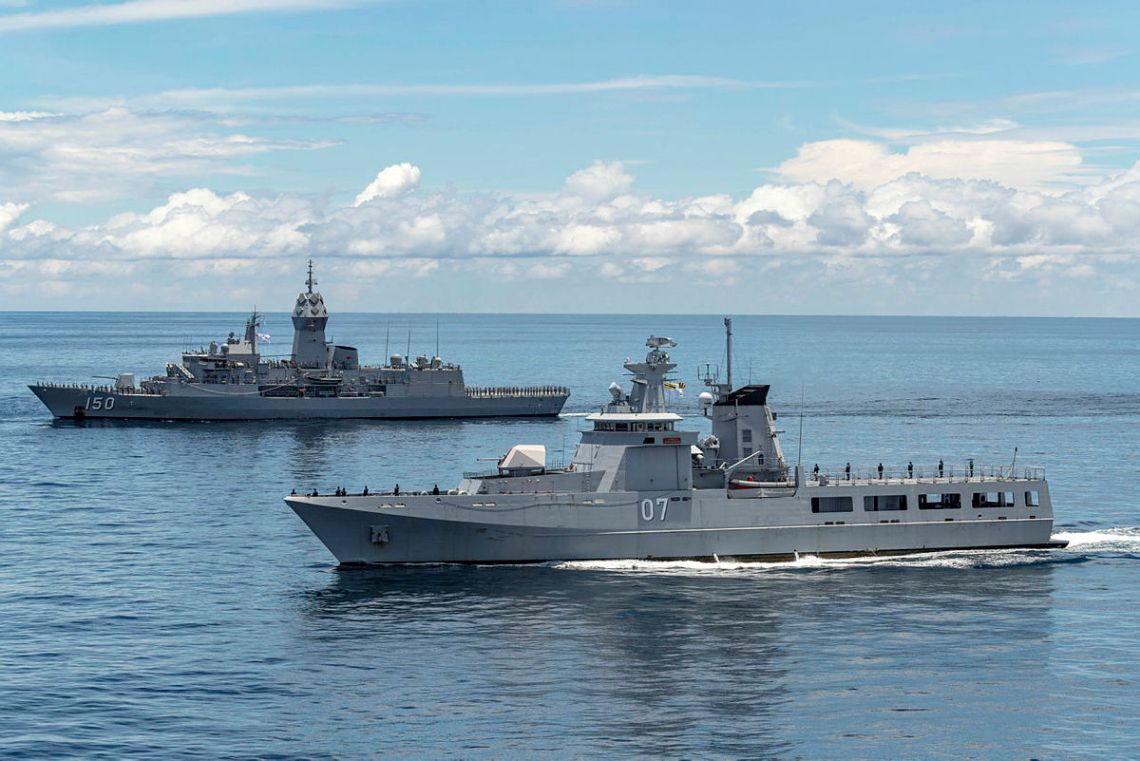 Royal Brunei Navy Concludes Joint Naval Exercise with Royal Australian Navy