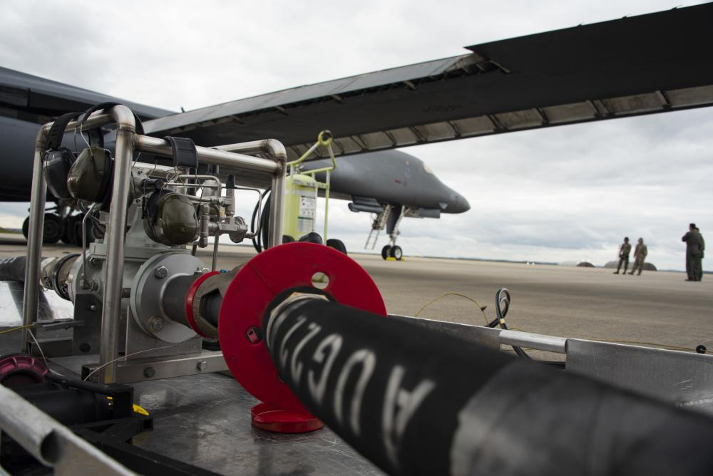Spangdahlem Air Base Refuels US Air Force BTF B-1 Bombers with VIPER for First Time