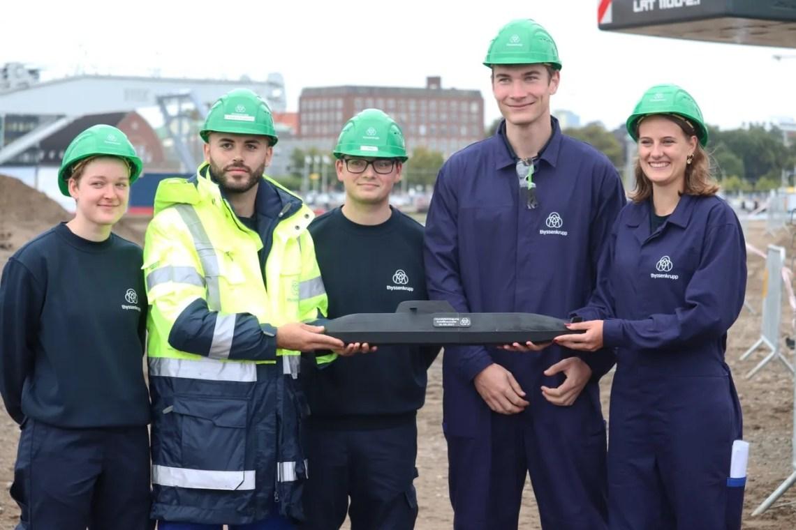 thyssenkrupp Marine Systems Starts Construction of New Submarine Building Hall
