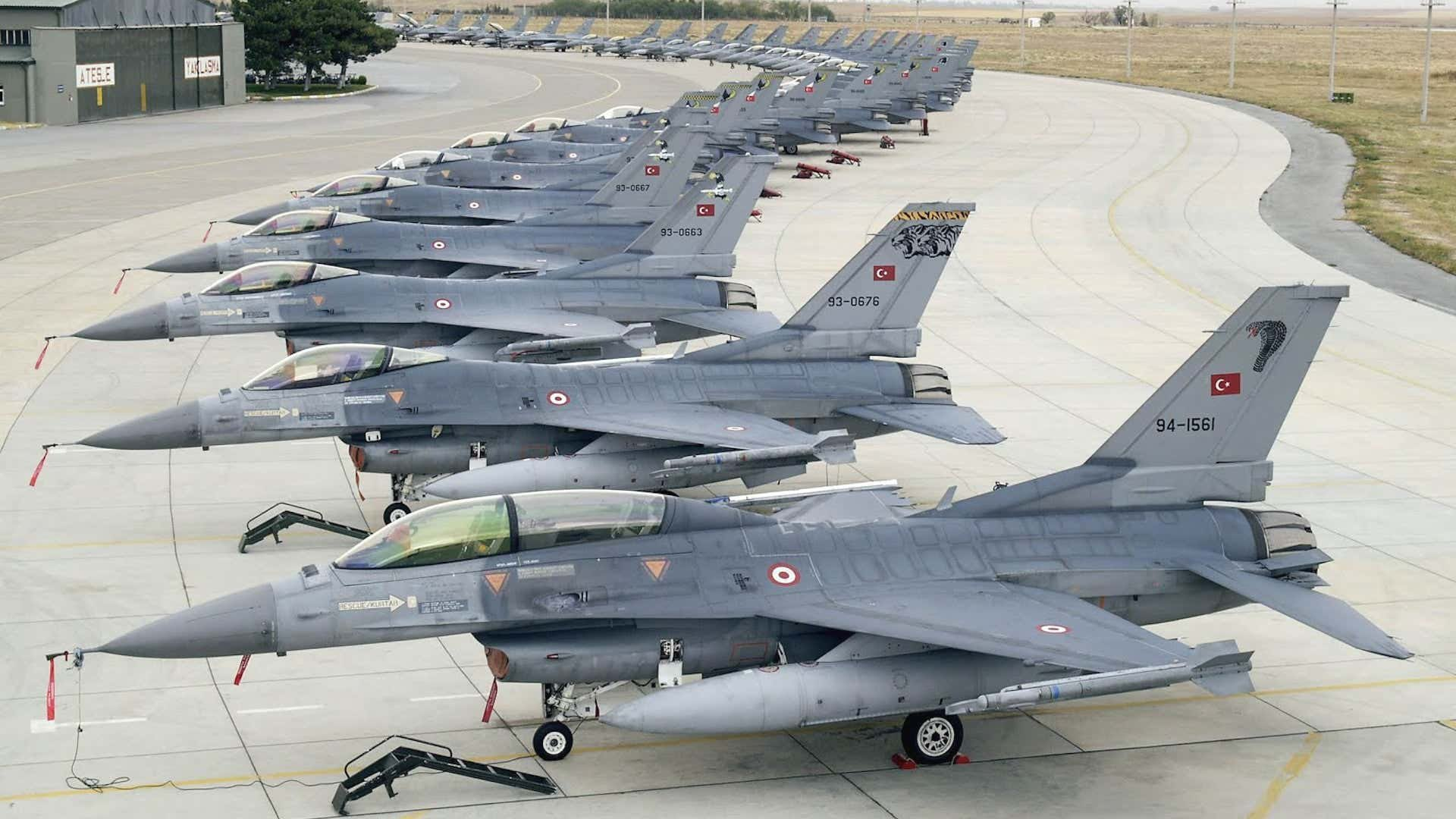 Turkey Asks US to Buy 40 F-16 Jets and 80 Upgrade Kits to Upgrade F-16 Fleet