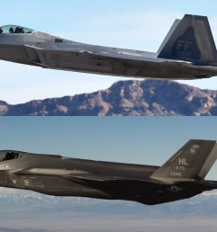 likewise the f 35 has shortcomings where the f 22 shines the bulk of what makes the f 22 and the f 35 different is cost and capabilities  [ 1280 x 720 Pixel ]