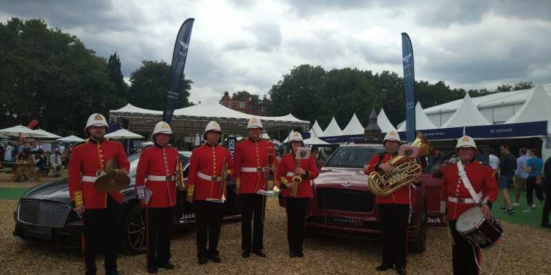 MFL Brass Band at the Longines Global Champions Tour