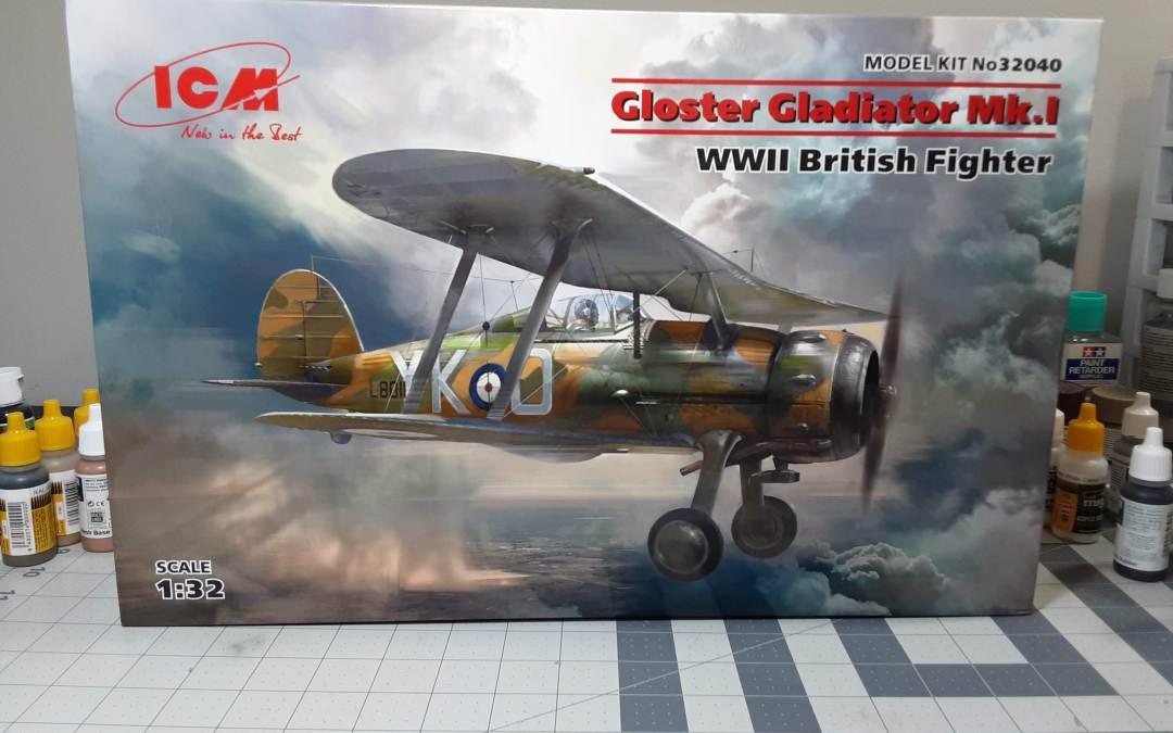 ICM 1/32 Gloster Gladiator Mk. I