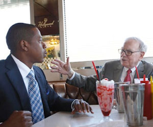 Jay Z & Warren Buffett