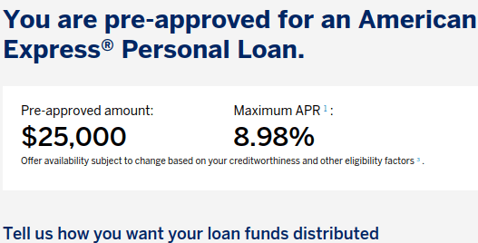 AMEX Personal Loan for Active Duty Military: 0% Interest for 3 Years