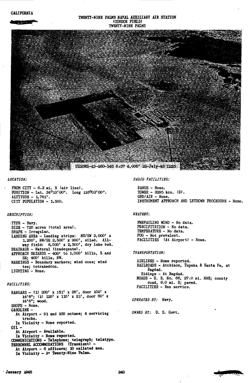 Historic California Posts: Marine Corps Air Ground Combat
