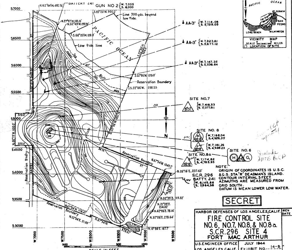 Harbor Defenses of Los Angeles: Fort MacArthur