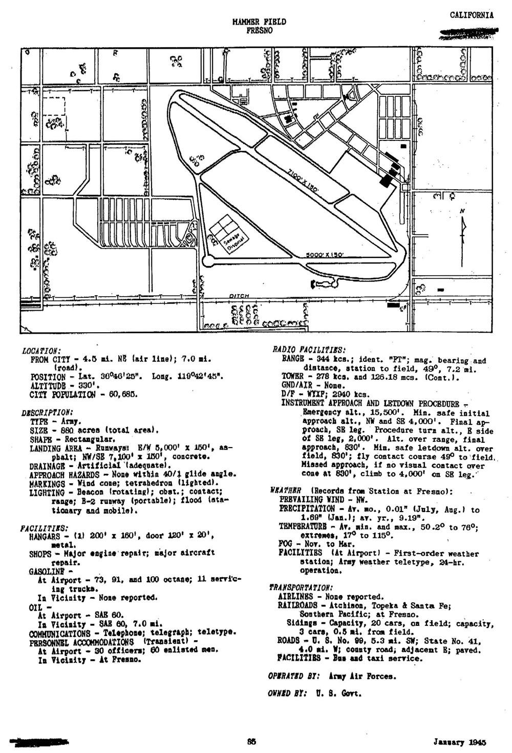 Historic California Posts: Fresno Air National Guard Base