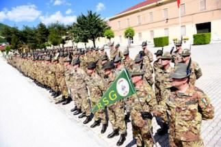 Il neo costituito battaglione Orta