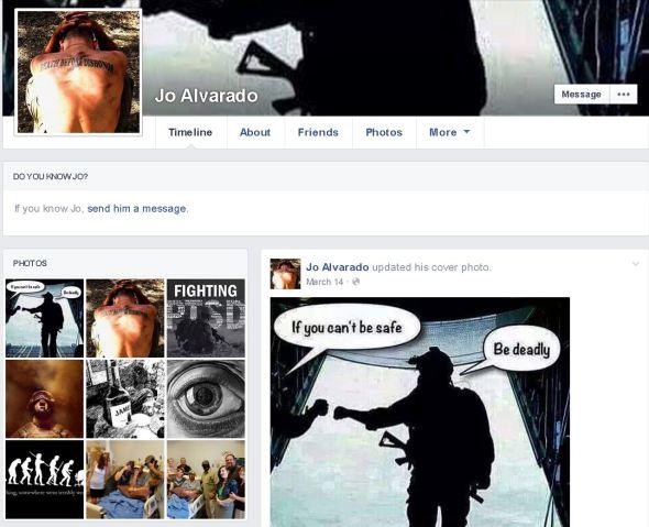 Joe Alverado Facebook Page