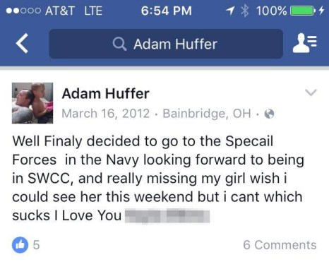 huffer - special forces swcc