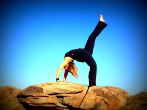 Yoga is a great way to battle depression naturally.